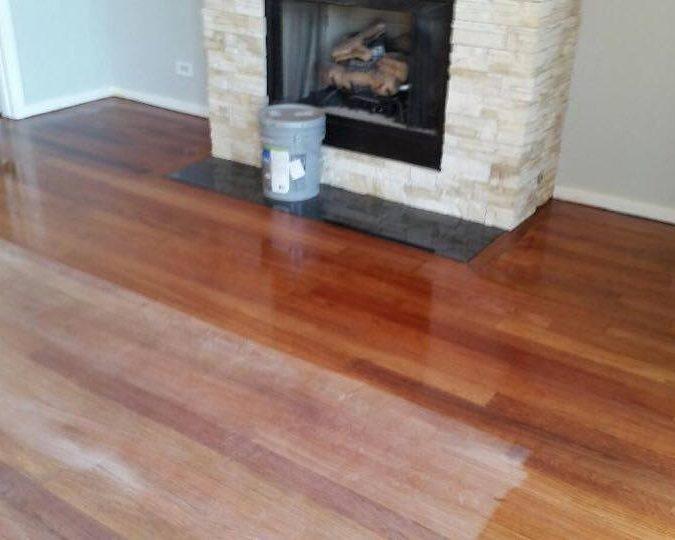 Varnishing floors